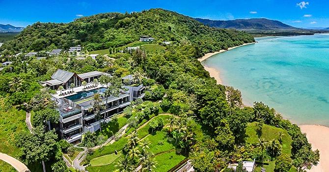 Villa Sawarin  Aerial View
