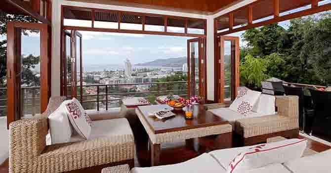 Villa Yoosook  Living Area